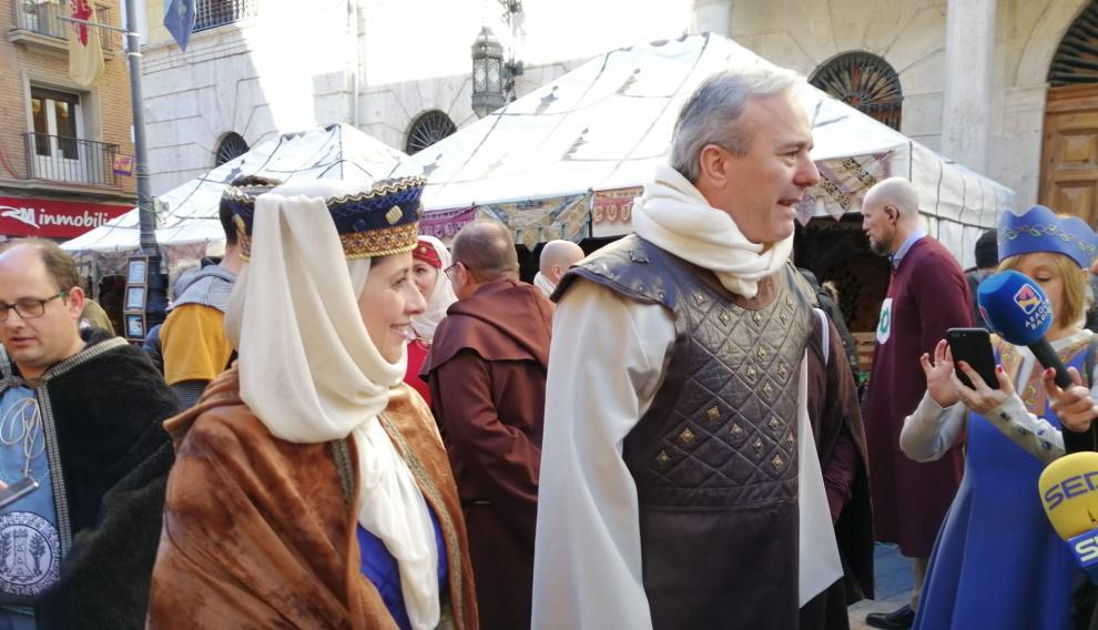 Jorge Azcón aparece en el Teruel del siglo XIII.