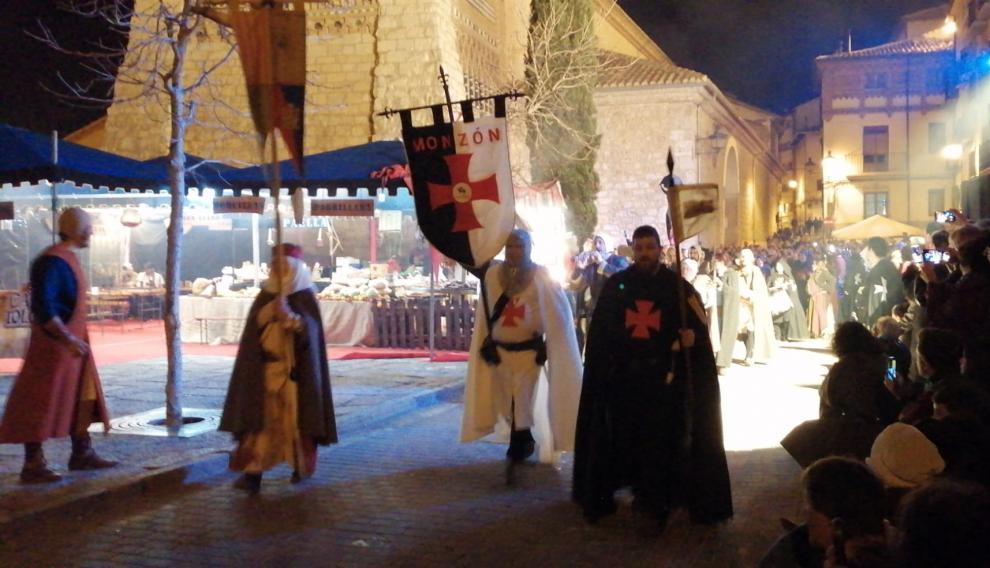 Caballeros, templarios y demás soldados por las calles de Teruel