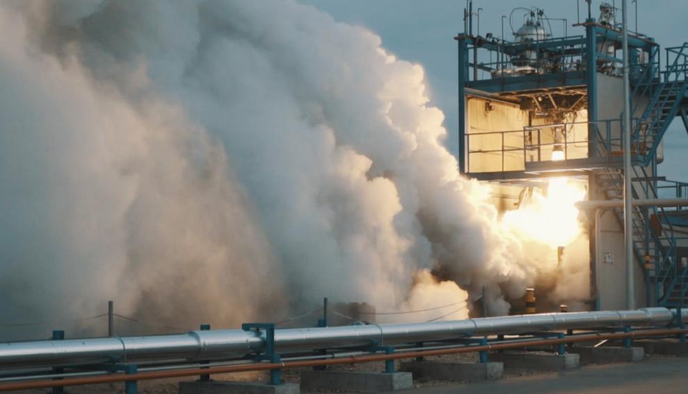 La empresa PLD Space acaba de ensayar en el aeropuerto de Teruel el motor del cohete Miura 1, que lanzará satélites espaciales.