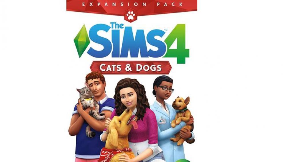 Los Sims 4, expansión Perros y gatos.