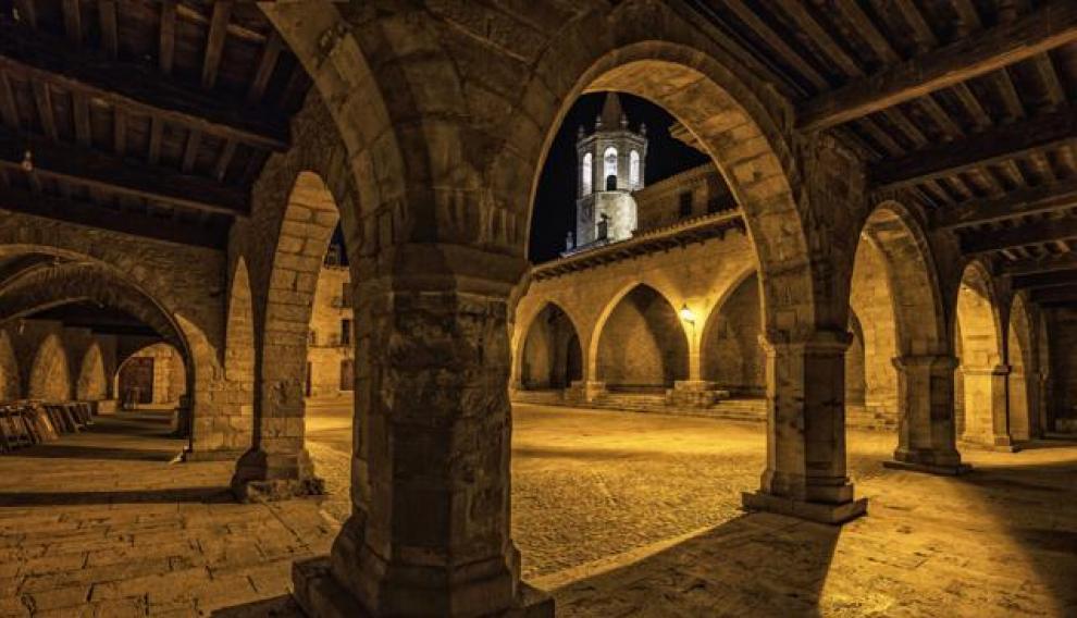 Imagen de Cantavieja ganadora del segundo premio en el concurso fotográfico de la Comarca del Maestrazgo.