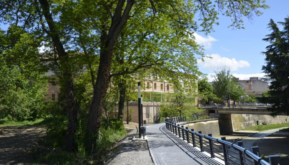La Casa Amparo es una residencia privada de Barbastro.