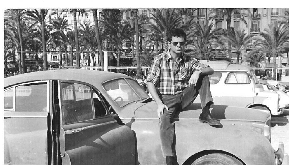 Ferrer Lerín, en Alicante, en 1966.