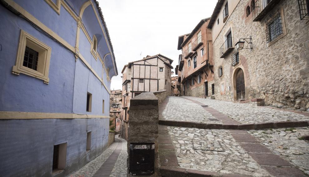 Calles de Albarracín, todo un placer visitarlas.