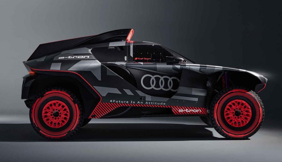 El coche de Sainz para el Dakar