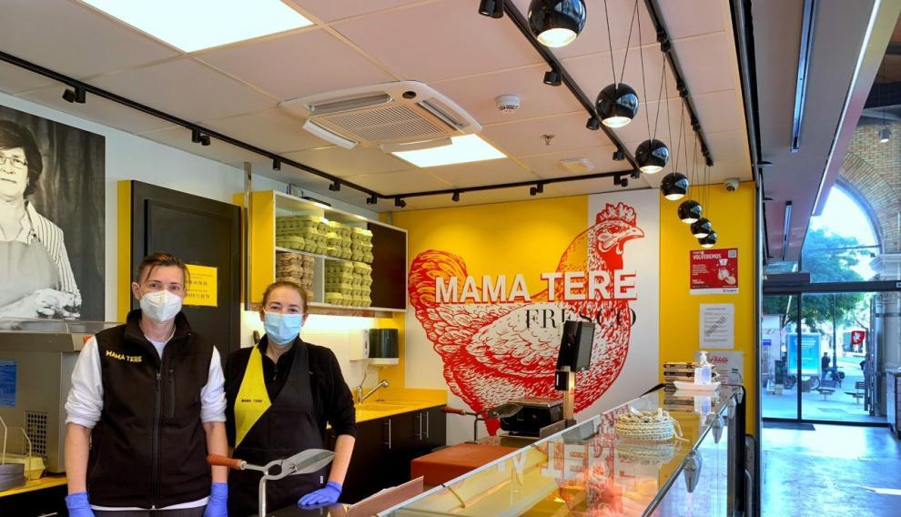 La pollería Mama Tere está ubicada en el Mercado Central.