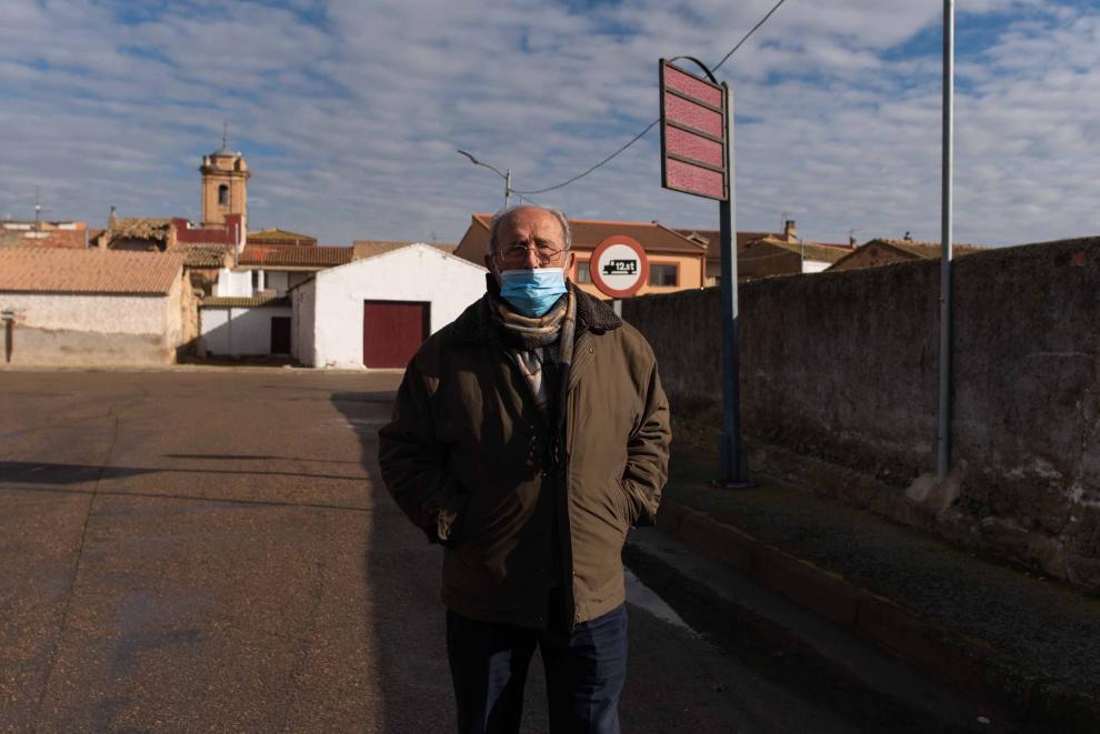 Francisco Leza, vecino de Cabañas, tenía 31 años durante la riada de 1961.