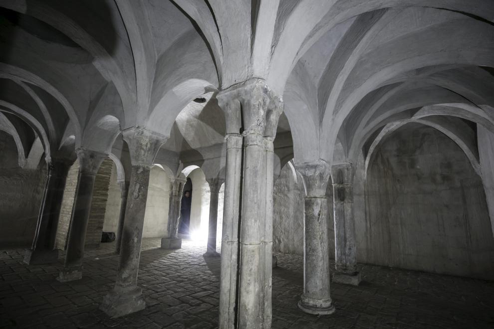 La última casa que habitó Goya siendo vecino de Zaragoza tenía la bodega en los antiguos baños judíos de la ciudad que se han conservado hasta nuestros días.
