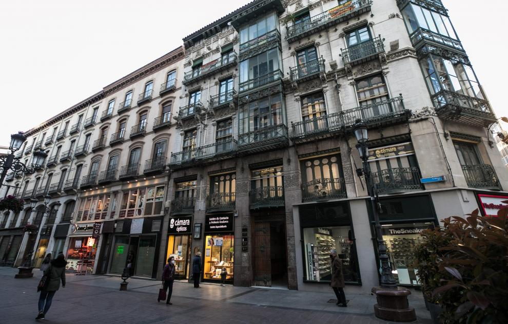 Casas donde vivió Goya: Alfonso I, 2.