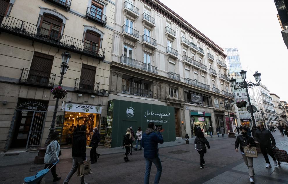 Casas donde vivió Goya: Calle de Alfonso I, 7-15