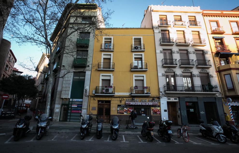 Casas donde vivió Goya: Plaza de San Miguel, 4