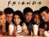El mítico grupo de cinco amigos que dan vida a la serie Friends.