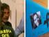 Combo de imágenes de Bernardo Montoya, custodiado por la Guardia Civil, y de un cartel en recuerdo de Laura.