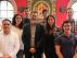 Los siete docentes latinoamericanos en la Universidad de Zaragoza.