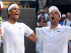 Nadal y Bautista celebran su victoria.