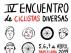 Cartel del IV Encuentro de 'Ciclistas Diversas'.