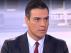 El presidente del Gobierno, Pedro Sánchez, en una entrevista en Telecinco.