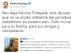 El presidente del Gobierno, Pedro Sánchez, ha lamentado en Twitter la pérdida de Paloma Tortajada.