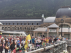 Cerca de 300 personas reivindican en Canfranc la reapertura de la línea internacional