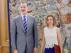 Felipe VI ha recibido a Meritxell Batet este viernes en el Palacio de la Zarzuela.