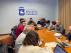 Reunión con los responsables de coordinación de La Vuelta a España en Ejea.