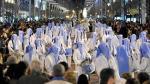 Imagen de la procesión del Santo Entierro del Viernes Santo del año pasado.