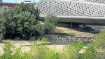 ARAGON ISLAS DE GRAVA EN EL EBRO EN LA ZONA DEL PABELLON PUENTE / 11-04-2019 / FOTO: ARANZAZU NAVARRO [[[FOTOGRAFOS]]]