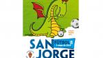 Imagen del cartel de Trofeo San Jorge organizado por el Real Zaragoza