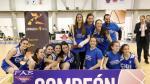 El CN Helios, campeón del Campeonato de Aragón Júnior Femenino.