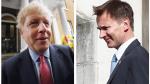 El exalcalde de Londres Boris Johnson y el ministro británico de Exteriores, Jeremy Hunt, se disputarán el liderazgo del Partido Conservador y la jefatura del Gobierno del Reino Unido