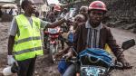 Controles sanitarios en Goma.
