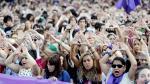 Concentración en Bilbao en rechazo a la violación múltiple de una joven de 18 años.