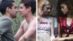 Dos escenas de 'Élite' y 'Euphoria'