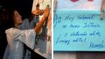 Patricia Ramírez escribió una nota dedicada a su hijo tras conocer el veredicto del jurado