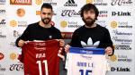 Hugo Bernárdez y Nano Modrego, presentados como nuevos jugadores del Fútbol Emotion Zaragoza