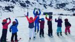 La Escuela de Esquí de Candanchú duplicó su plantilla fija en diciembre y llegó a 60 profesores.