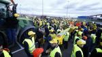 Protesta de agricultores en Zaragoza