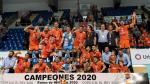 El CV Teruel celebra su sexta Copa del Rey en el pabellón Son Moix de Palma de Mallorca.