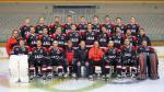 Foto oficial del equipo del Club Hielo Jaca de la Liga Nacional