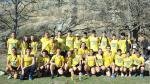 Componentes del Alcampo Scorpio 71 en el Campeonato de España de campo a través celebrado en el monte Valonsadero