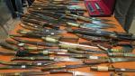 Cuchillos de una operación a gran escala