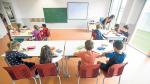 Primer día de curso en el colegio Ánfora de Cuarte, el pasado mes de septiembre.