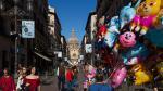 Una imagen de la calle Alfonso durante las fiestas del Pilar de 2016.