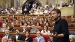 Pleno en el Parlamento de Cataluña