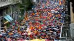 Miles de personas en Barcelona por la unidad de España