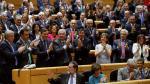 Sesión en el Senado en la que se votó el artículo 155