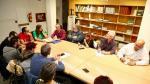 Reunión del Ayuntamiento de Zaragoza la semana pasada con los vecinos del Actur