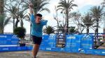Jesús Escacho, en acción durante un torneo en Mazarrón (Murcia)