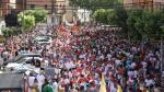 Desfile y merienda