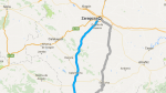 Trayecto Autobús Zaragoza - Teruel